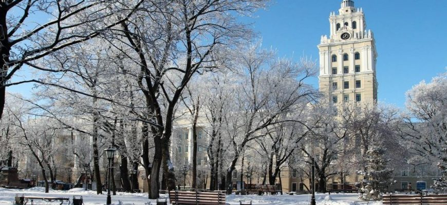 Воронеж зимой
